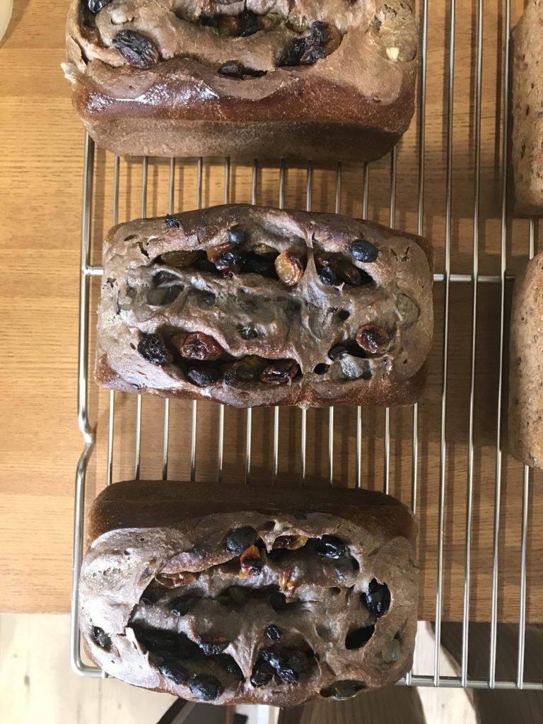 4raisin bread 4種のレーズンブレッド