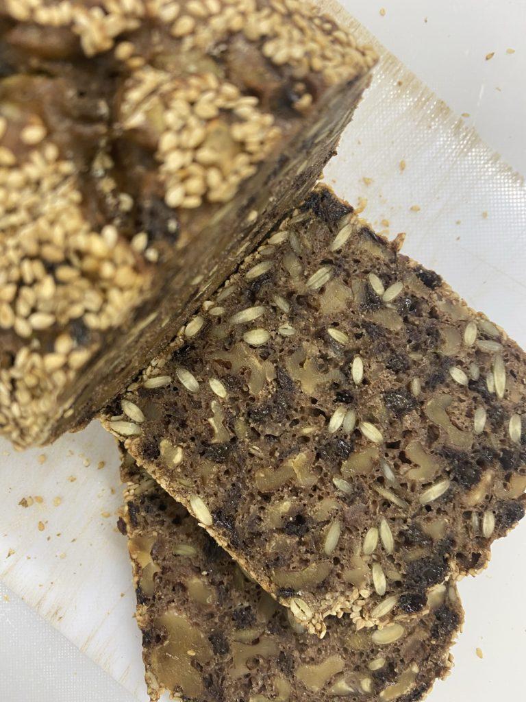 Rye bread カボチャの種とクルミとカレンツ