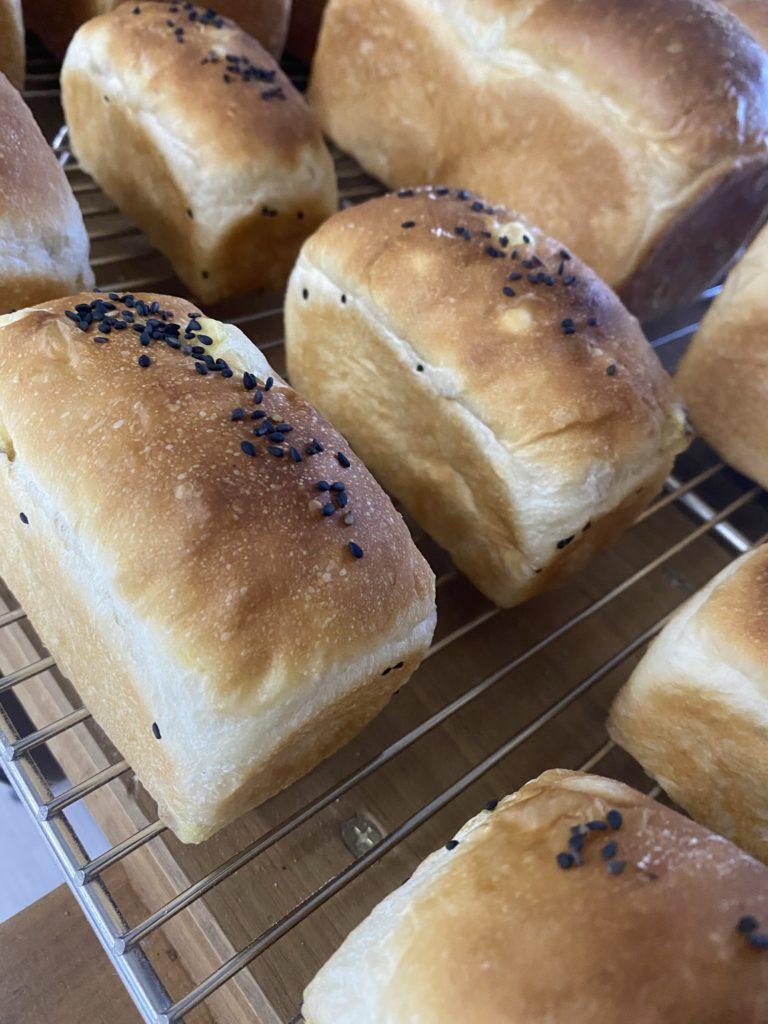 Mini bread さつま入りミニ食パン